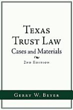 Texas Trust Law -- Second Edition